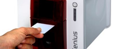 How to print your factory staff ID with our latest evolis ID card printer solution to give you the direct staff information?